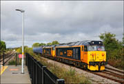 50049 + 50007 at Honeybourne